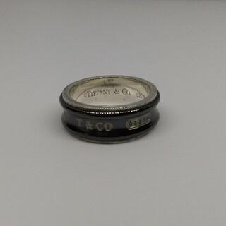 ティファニー(Tiffany & Co.)のティファニー チタン シルバー コンビリング 約2号(リング(指輪))