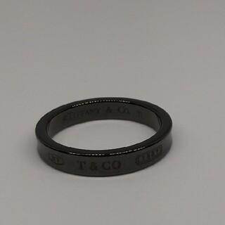 ティファニー(Tiffany & Co.)のティファニー チタンリング 1837 ナロー 約21号(リング(指輪))