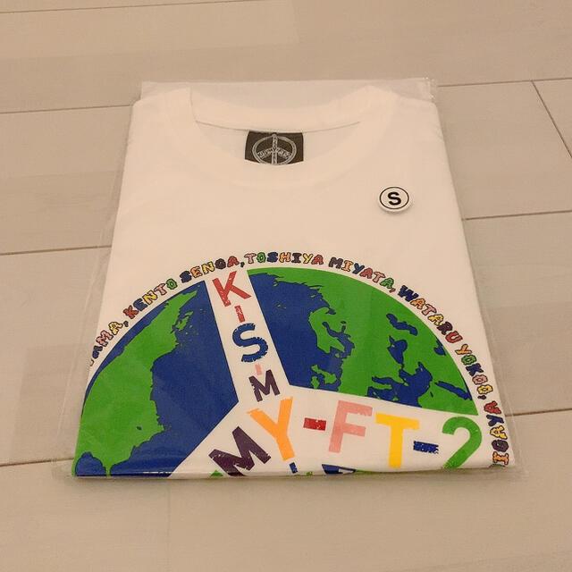 Kis-My-Ft2(キスマイフットツー)のKis-My-Ft2 Tシャツ タオル エンタメ/ホビーのタレントグッズ(アイドルグッズ)の商品写真