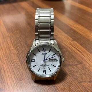セイコー(SEIKO)のSEIKO ALBA ADFD554 ホワイト(腕時計(アナログ))