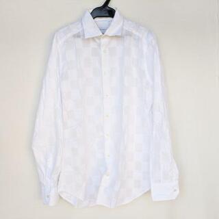 エトロ(ETRO)のETRO(エトロ) 長袖シャツ メンズ - 白(シャツ)