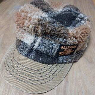 ブランシェス(Branshes)のブランシェス キャップ 帽子 ボア 秋冬(帽子)