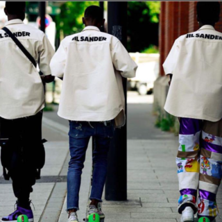 ジルサンダー(Jil Sander)の新品 JIL SANDER 20SS スタッフシャツ ジルサンダー(シャツ)