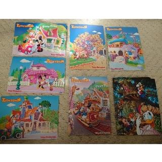 ディズニー(Disney)のDisney ポストカード(使用済み切手/官製はがき)
