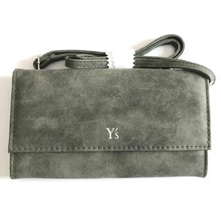 Y's - Y's ワイズ ヨウジヤマモト 財布 ポーチ ショルダー グレー系
