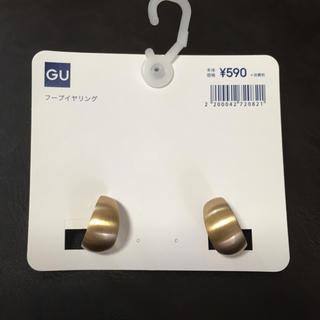 ジーユー(GU)のフープイヤリング(イヤリング)