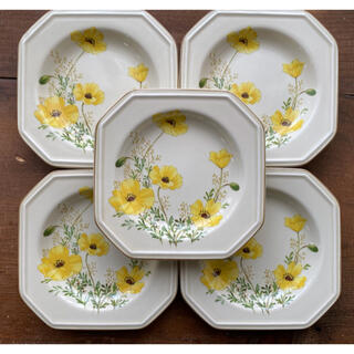 ミカサ(MIKASA)の花柄 プレート(食器)