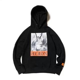 ヒューレットパッカード(HP)のHeron Preston Heron Hoody ブラック サイズ M(パーカー)