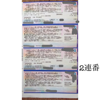 ハイキュー展 東京会場 チケット(声優/アニメ)