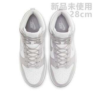 ナイキ(NIKE)のUS10 28cm Nike Dunk High White Vast Grey(スニーカー)