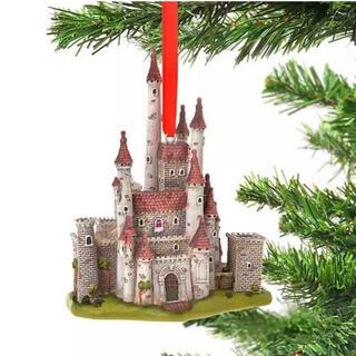 ディズニー(Disney)の白雪姫 キャッスルコレクション オーナメント 新品 ディズニーストア 城(キャラクターグッズ)