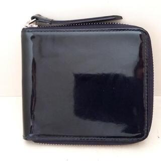 マーガレットハウエル(MARGARET HOWELL)のマーガレットハウエル 2つ折り財布 黒(財布)