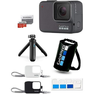 ゴープロ(GoPro)の【GoPro公式限定】GoPro HERO7 Silver  付属品多数(コンパクトデジタルカメラ)