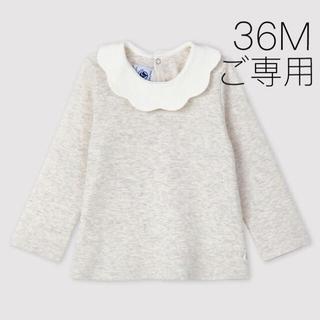 プチバトー(PETIT BATEAU)の*ご専用* 新品未使用  プチバトー  衿付き  カットソー  36m(Tシャツ/カットソー)