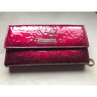 ピンキーアンドダイアン(Pinky&Dianne)のピンダイ 長財布 ボルドー(財布)