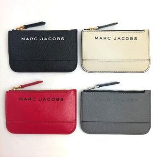 マークジェイコブス(MARC JACOBS)のセール☆マークジェイコブス ブラック カードケース キーケース キーリング付(名刺入れ/定期入れ)
