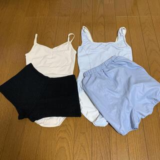 バレエレオタード、パンツまとめ売り(ダンス/バレエ)
