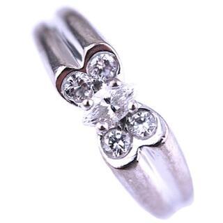 ヴァンクリーフアンドアーペル(Van Cleef & Arpels)のヴァンクリーフ&アーペル セリア ダイヤモンド リング 指輪 K18 WG(リング(指輪))