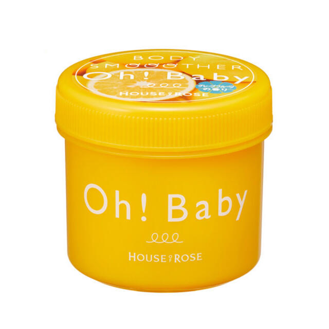 HOUSE OF ROSE(ハウスオブローゼ)のハウスオブローゼ ボディスムーザー グレープフルーツ コスメ/美容のボディケア(ボディスクラブ)の商品写真
