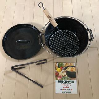ユニフレーム(UNIFLAME)のユニフレーム ダッチオーブン 10インチ (調理器具)