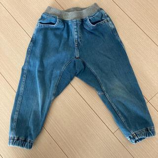 ムジルシリョウヒン(MUJI (無印良品))の無印良品 デニムズボン 90cm(パンツ/スパッツ)