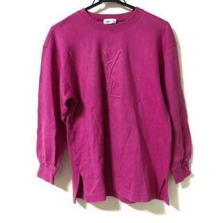 サンローラン(Saint Laurent)のイヴサンローラン 長袖カットソー サイズM(Tシャツ/カットソー(七分/長袖))