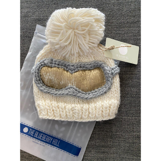 プチバトー(PETIT BATEAU)の【新品未使用】THE BLUE BERRYHILL ニット帽子(帽子)