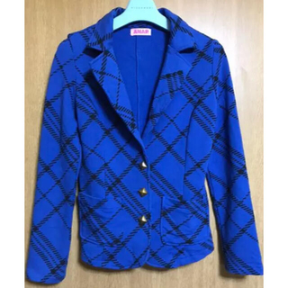 アナップ(ANAP)のANAP  ブルージャケット(テーラードジャケット)