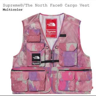 シュプリーム(Supreme)のsupreme the north face cargo vest L(ベスト)