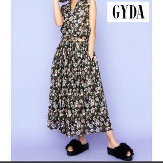 ジェイダ(GYDA)のGYDA ♡ オリジナルフラワーボリュームスカート(ロングスカート)
