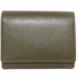 マーガレットハウエル(MARGARET HOWELL)のマーガレットハウエル 2つ折り財布美品  -(財布)