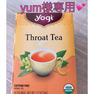 カルディ(KALDI)の🍀Yogi Throat tea(茶)