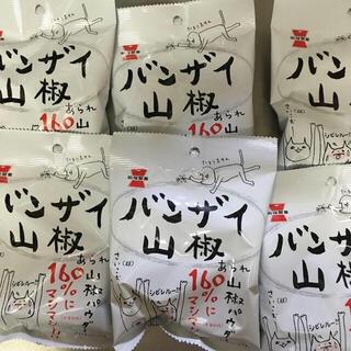 カメダセイカ(亀田製菓)の専用!バンザイ山椒 4袋(菓子/デザート)