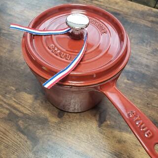 ストウブ(STAUB)のSTAUB ストウブ スープポット 18cm ガーネットローズ ルージュ レア (鍋/フライパン)
