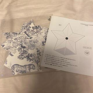 クリスチャンディオール(Christian Dior)の伊勢丹新宿 折り紙 スター(ノベルティグッズ)