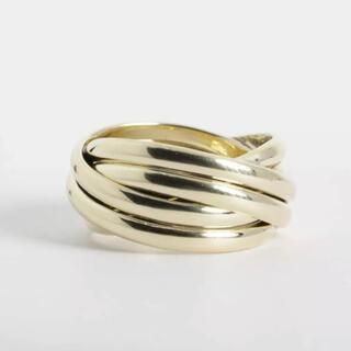 ティファニー(Tiffany & Co.)のTiffany&co 14K Yellow Gold Bands Ring (リング(指輪))