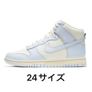 ナイキ(NIKE)のNike Dunk High Sail Football Grey Womens(スニーカー)
