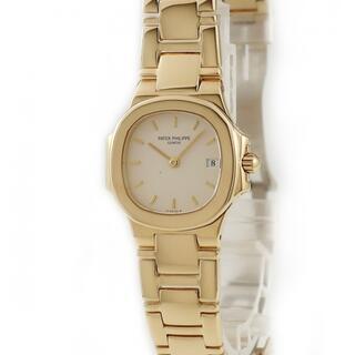 パテックフィリップ(PATEK PHILIPPE)のパテックフィリップ  ノーチラス 4700/1J クオーツ レディース(腕時計)