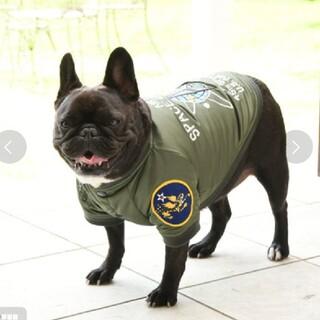 アヴィレックス(AVIREX)のNeo様 専用 AVIREX MA-1 スペースコマンド カーキ(犬)