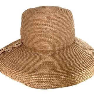 ヘレンカミンスキー(HELEN KAMINSKI)のヘレンカミンスキー 帽子 ベージュ リボン(その他)