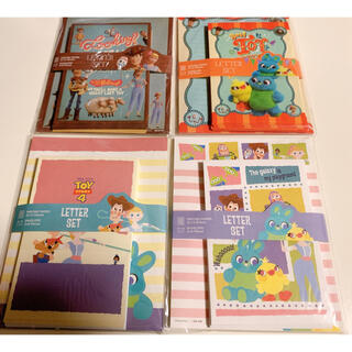 トイストーリー(トイ・ストーリー)のトイストーリー4 レターセット ピクサー ディズニー 8個セット(カード/レター/ラッピング)
