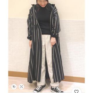 サマンサモスモス(SM2)の綾織テーパードパンツ✧︎*。(カジュアルパンツ)
