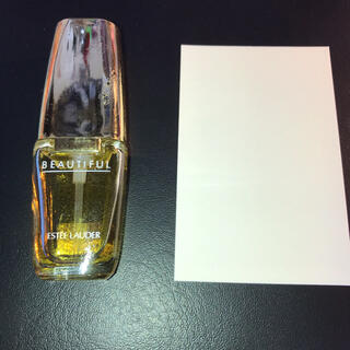 エスティローダー(Estee Lauder)のエスティーローダーbeautiful 香水ムエット試香紙)(香水(女性用))