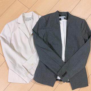 エイチアンドエム(H&M)のジャケット セット(ノーカラージャケット)