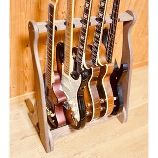 フェンダー(Fender)のシミ君様専用 ベーススタンド 5本掛け(エレキベース)