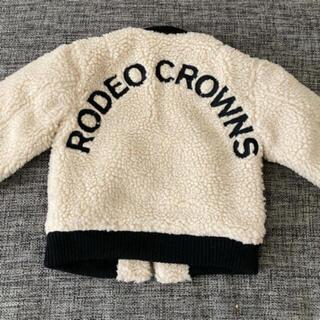 ロデオクラウンズ(RODEO CROWNS)の新品 ロデオクラウンズ  ボアジャケット ♡(ジャケット/上着)