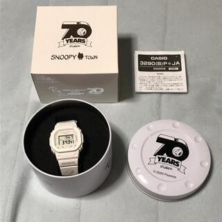 ベビージー(Baby-G)のPEANUTS BABY-G 70周年記念限定 スヌーピー G-SHOCK 新品(腕時計)