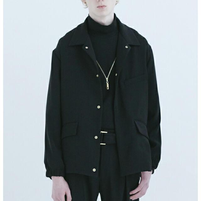STUDIOUS(ステュディオス)のCULLNI クルニ テーラードジャケット 18AWネイビーブラック メンズのジャケット/アウター(テーラードジャケット)の商品写真