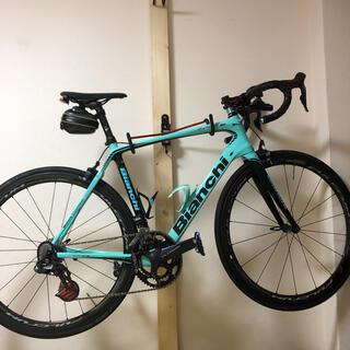 ビアンキ(Bianchi)の美品 ビアンキ インフィニートcv Di2アルテグラ フルカーボン 2018年式(自転車本体)