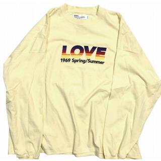 SUNSEA - DAIRIKU 21ss LOVE ロンT